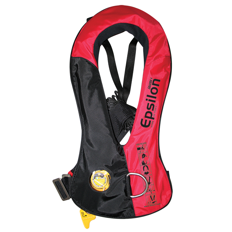 Inflatable Lifejacket Epsilon 165N,  ISO 12402-3, auto Hammar MA1